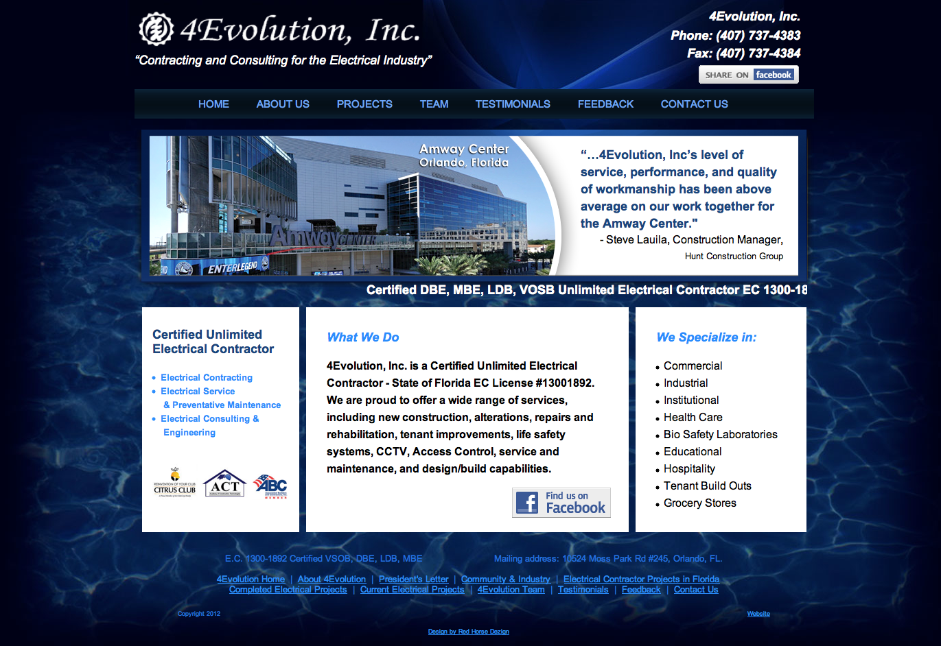 4evolution-website-redesign
