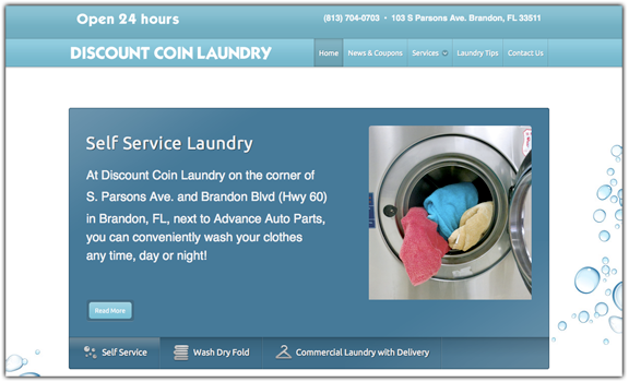 laundry-site-web-design
