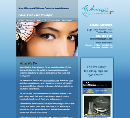 website-design-brandon-botox-weightloss-spa